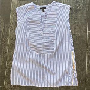 J. Crew Sleeveless Tunic Top, Size 2